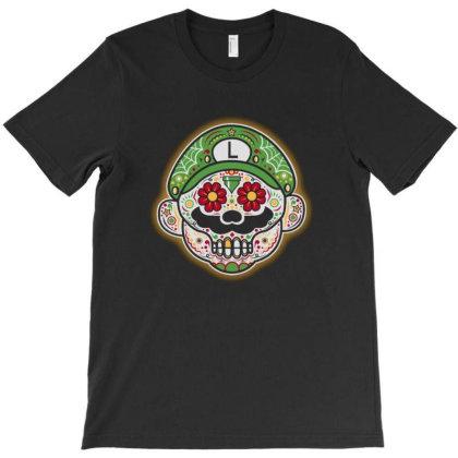 Dia De Los Luigis T-shirt Designed By Gudalbosok