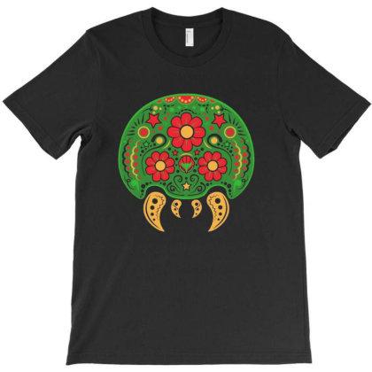Dia De Los Metroids T-shirt Designed By Gudalbosok
