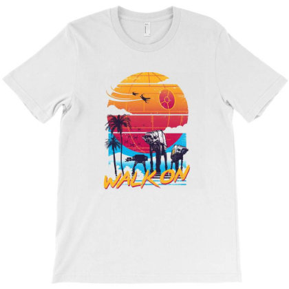 Walk On T-shirt Designed By Blackwell