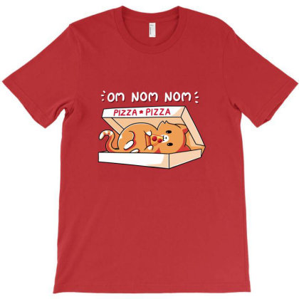 Om Nom Nom T-shirt Designed By Brain