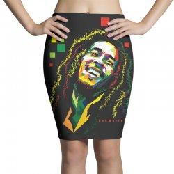 Bob Marley Rasta way in Pencil Skirts | Artistshot