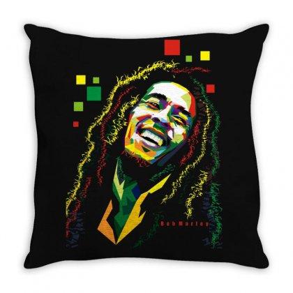 Bob Marley Rasta Way In Throw Pillow Designed By Mdk Art