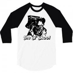 the old school 3/4 Sleeve Shirt   Artistshot