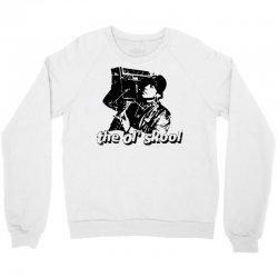 the old school Crewneck Sweatshirt   Artistshot