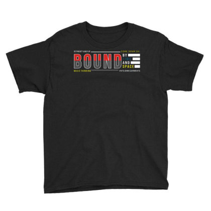 Bound By Time And Space Youth Tee Designed By Traart