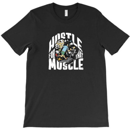 Hustle T-shirt Designed By Disgus_thing