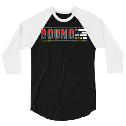 Bound By Time And Space 3/4 Sleeve Shirt Designed By Traart