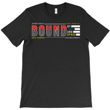Bound By Time And Space T-shirt Designed By Traart
