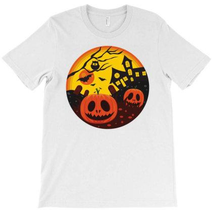 Pumpkin Night T-shirt Designed By Beeyou