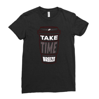 Breeze Ladies Fitted T-shirt Designed By Traart
