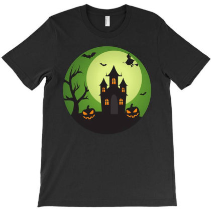 Halloween Night T-shirt Designed By Beeyou