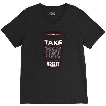 Breeze V-neck Tee Designed By Traart