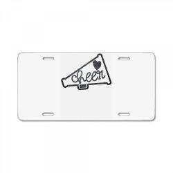 Cheer License Plate | Artistshot