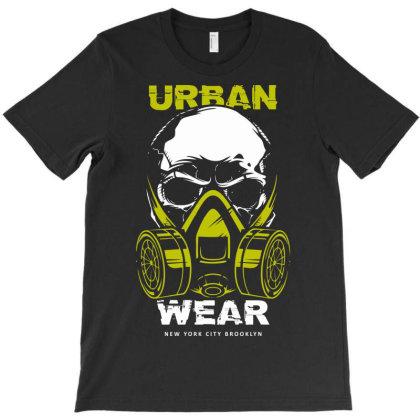 Urban Wear Mask Covid Corona T-shirt Designed By Designisfun