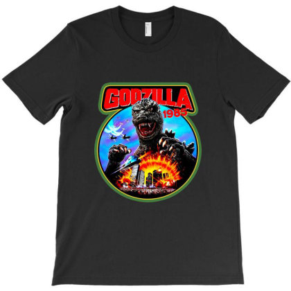 Godzilla Japanese T-shirt Designed By Scales