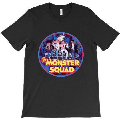 He Monster Squad T-shirt Designed By Scales