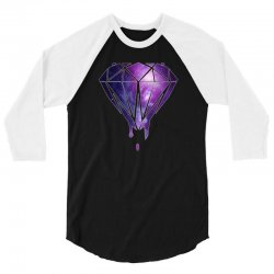 dripping diamond 3/4 Sleeve Shirt | Artistshot