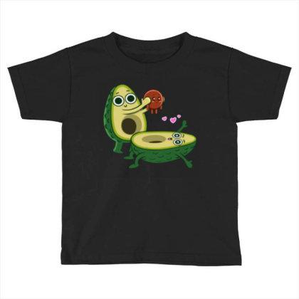 Avocado Childbirth Toddler T-shirt Designed By Kateskentus