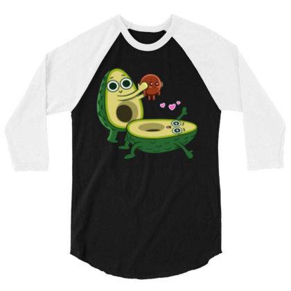 Avocado Childbirth 3/4 Sleeve Shirt Designed By Kateskentus