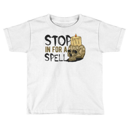 Candle On The Skull1 Toddler T-shirt Designed By Traart