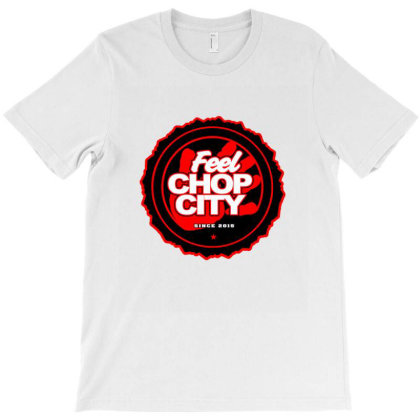 Chop City Hand T-shirt Designed By Blackstone