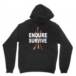 endure and survive (the last of us) Unisex Hoodie   Artistshot