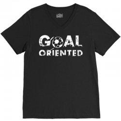 goal oriented V-Neck Tee | Artistshot