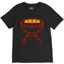 grill V-Neck Tee | Artistshot