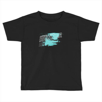 Runner Toddler T-shirt Designed By Disgus_thing