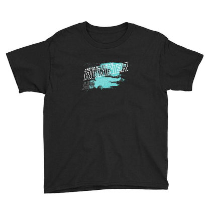 Runner Youth Tee Designed By Disgus_thing