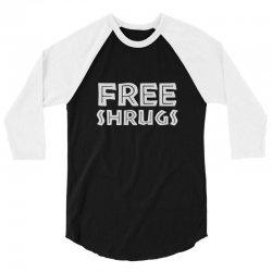 free shrugs 3/4 Sleeve Shirt | Artistshot