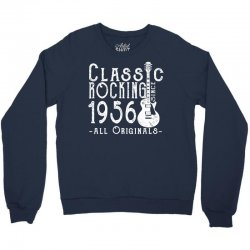 rocking since 1956 copy Crewneck Sweatshirt   Artistshot
