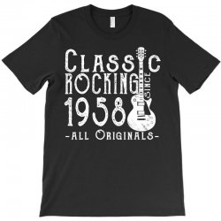 rocking since 1958 copy T-Shirt | Artistshot