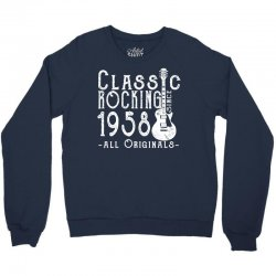 rocking since 1958 copy Crewneck Sweatshirt | Artistshot