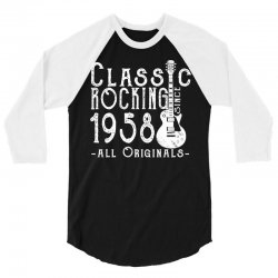 rocking since 1958 copy 3/4 Sleeve Shirt | Artistshot