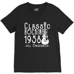 rocking since 1958 copy V-Neck Tee | Artistshot