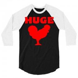 huge 3/4 Sleeve Shirt   Artistshot