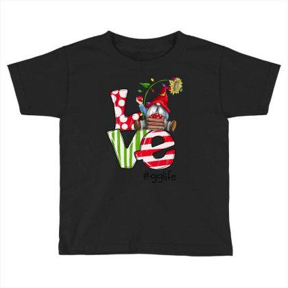 Love Gg Life Christmas Toddler T-shirt Designed By Koopshawneen