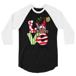 love gg life christmas 3/4 Sleeve Shirt | Artistshot