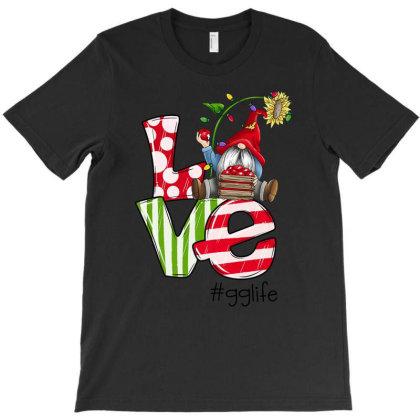 Love Gg Life Christmas T-shirt Designed By Koopshawneen