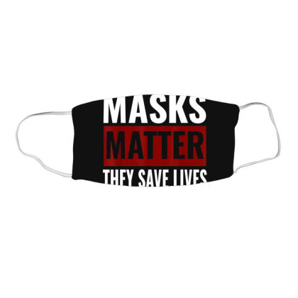 Masks Matter They Save Lives Face Mask Rectangle Designed By Koopshawneen