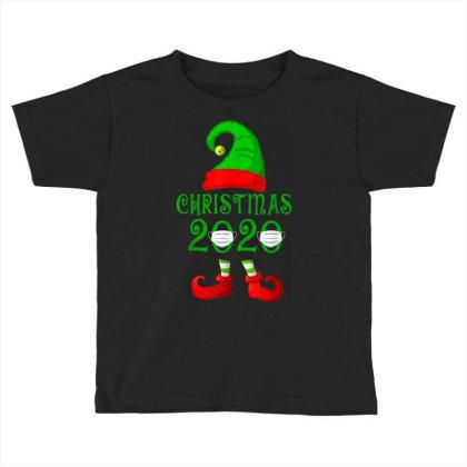 Matching Family Christmas 2020 Elf Toddler T-shirt Designed By Koopshawneen