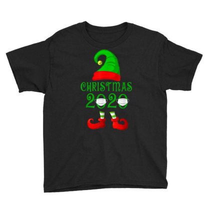 Matching Family Christmas 2020 Elf Youth Tee Designed By Koopshawneen