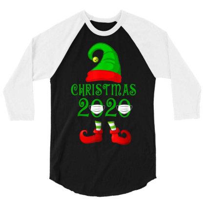 Matching Family Christmas 2020 Elf 3/4 Sleeve Shirt Designed By Koopshawneen