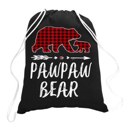 Pawpaw Bear Christmas Pajama Drawstring Bags Designed By Koopshawneen