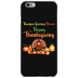 Happy thanksgiving turkey with a mask iPhone 6/6s Case | Artistshot