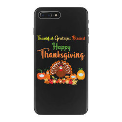 Happy thanksgiving turkey with a mask iPhone 7 Plus Case | Artistshot