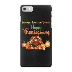 Happy thanksgiving turkey with a mask iPhone 7 Case | Artistshot