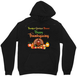 Happy Thanksgiving Turkey With A Mask Unisex Hoodie Designed By Mrt90