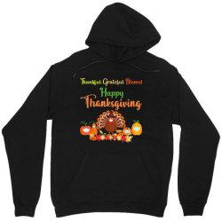 Happy thanksgiving turkey with a mask Unisex Hoodie | Artistshot